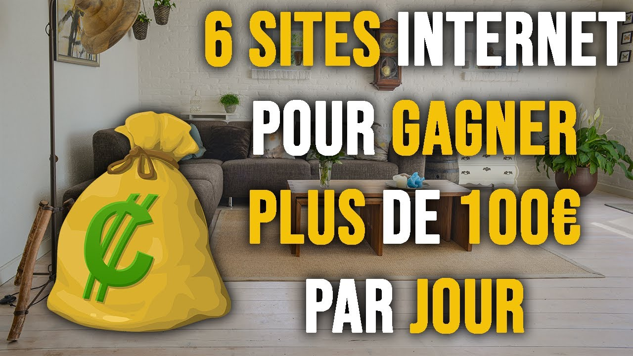 des gains importants sur Internet sans investissements)