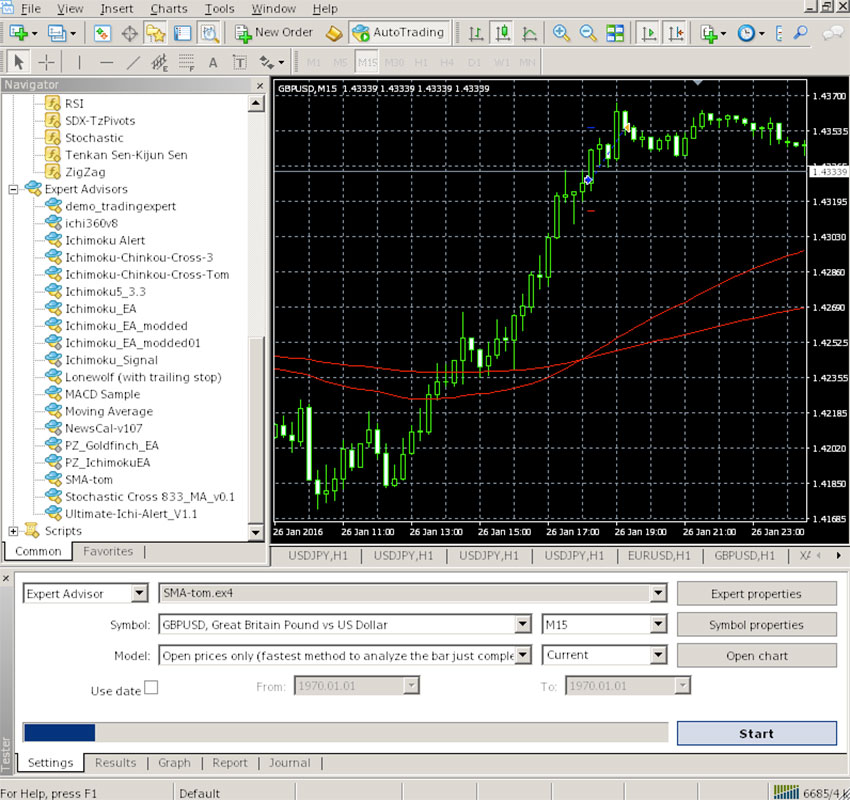 optimisation dun robot de trading