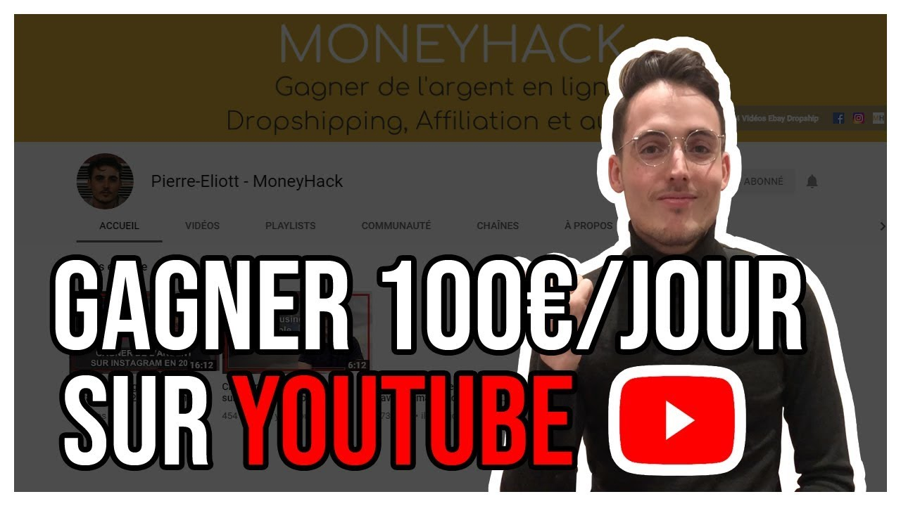 comment youtube gagne de largent