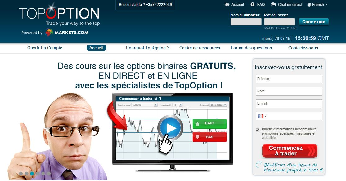 Les 10 meilleurs sites Web de courtiers en options binaires par TradersBible