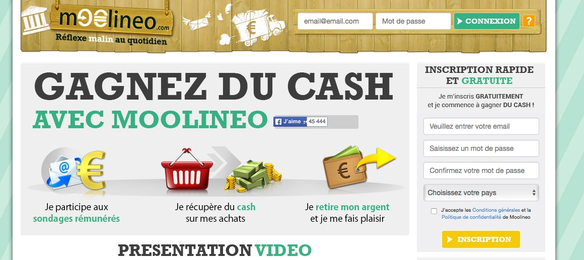 gains faciles sur Internet sans investissements)