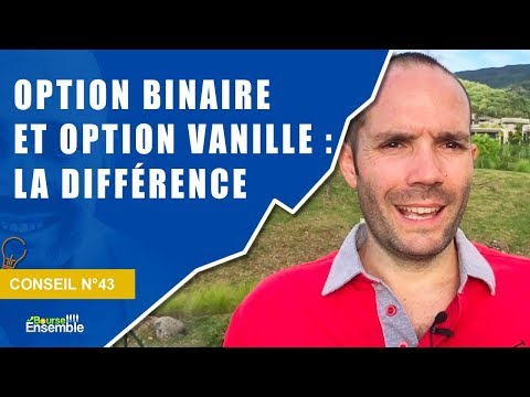options vanille et options binaires)