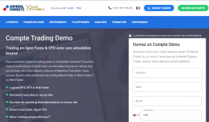 compte démo options forts