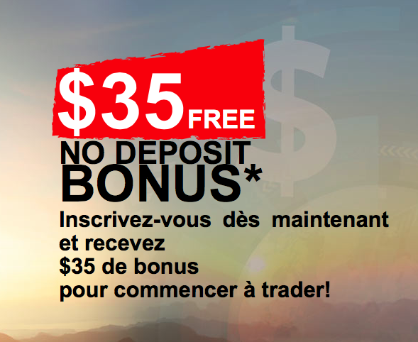 options de trading bonus sans dépôt