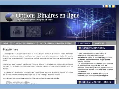 introduction des options binaires