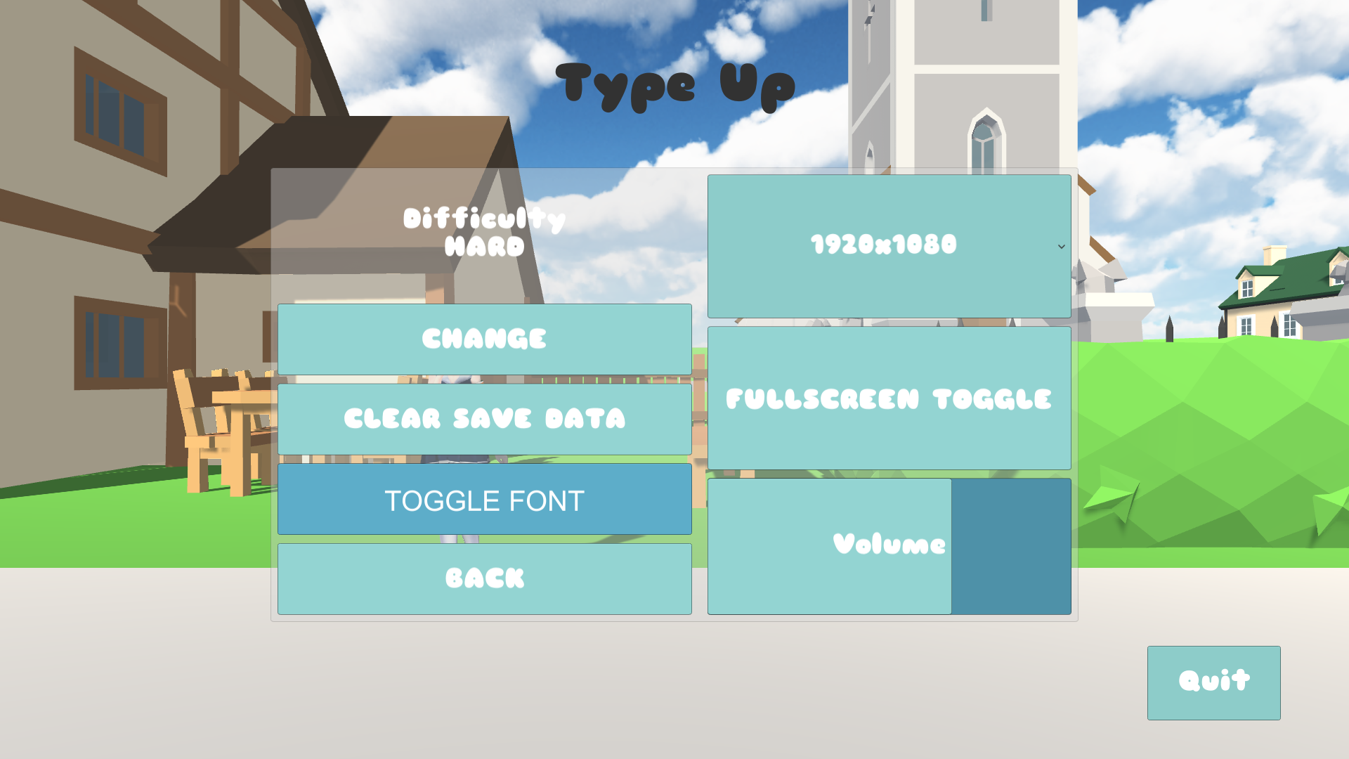 Type Up - Minor Update: Font Toggle Option : actualités Steam