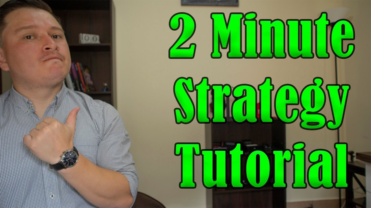 Binary Options News 2 Minute Strategy / 10 Quick Tips And Tricks.