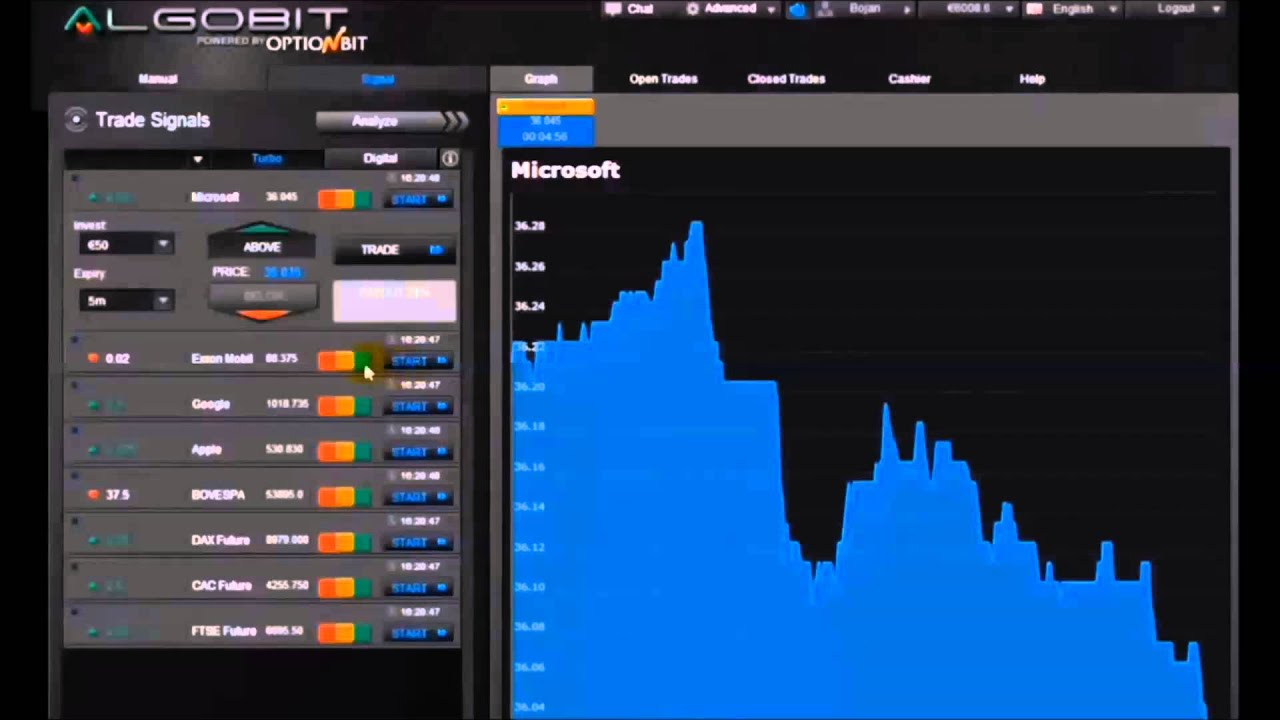 Comment trader les options binaires youtube